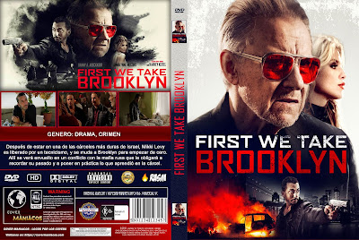 CARATULA FIRST WE TAKE BROOKLYN - 2018 [COVER DVD]