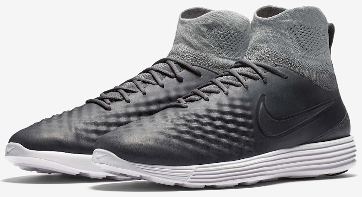 separation shoes b28b0 a9a03 Dark Grey Nike Lunar Magista Flyknit II Released - Footy ...