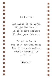 poème musée le louvre