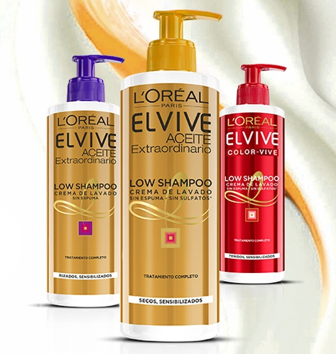 Shampoo elvive para cabello rizado precio