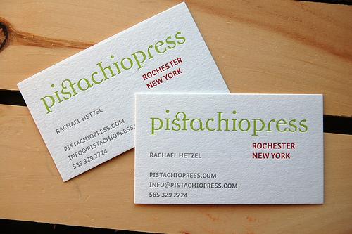 In nhanh card visit rẻ đẹp, thiết kế sang trọng chuyên nghiệp Rachael Hetzel