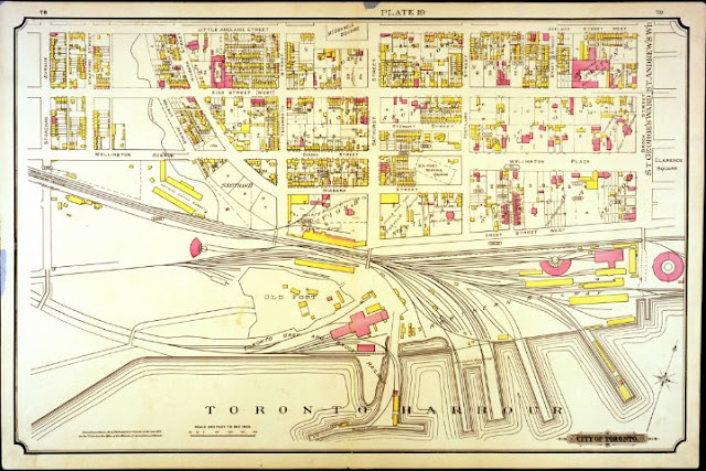 Plate 19, Goad's Atlas of the City of Toronto, 1884