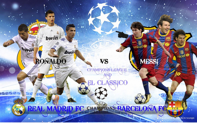 Messi Vs Cristiano Ronaldo Real Madrid