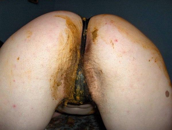 какашка в женской киска