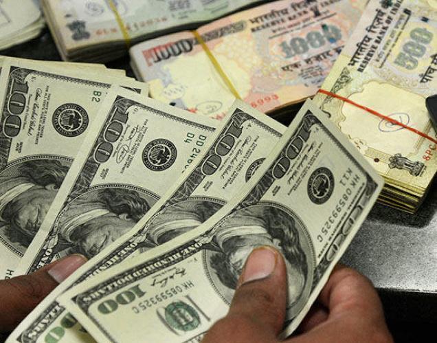 Rupee+Dollar
