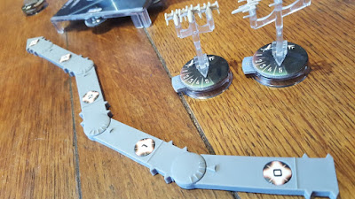 Star Wars Armada game review measuring tool
