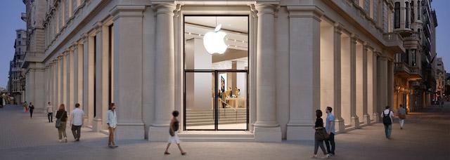 Loja da Apple em Barcelona