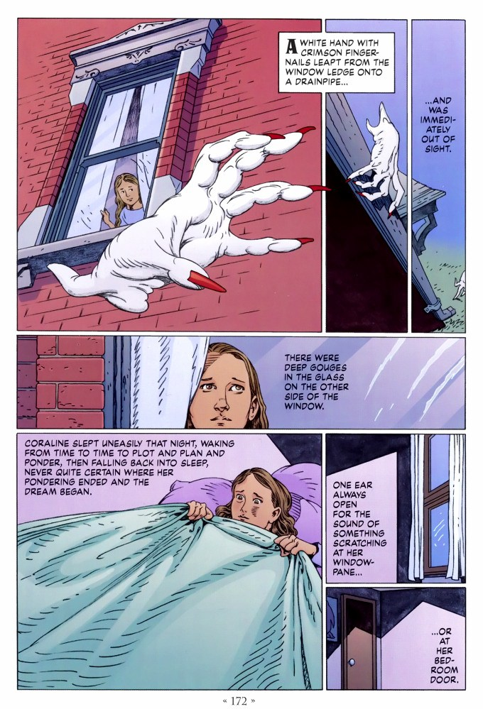 Read page 172, from Nail Gaiman and P. Craig Russell's Coraline graphic novel