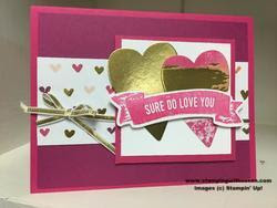 Stampin' Up! Sure do Love You Bundle Lots to Love Painted with Love