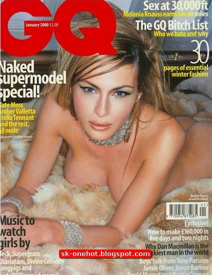Foto Melania Trump Telanjang di majalah GO