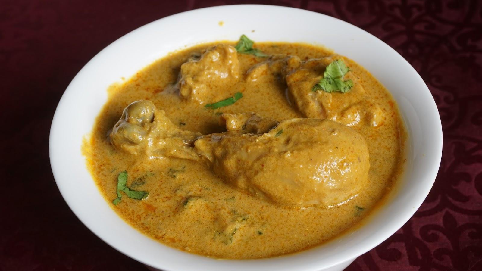 how to prepare chicken korma