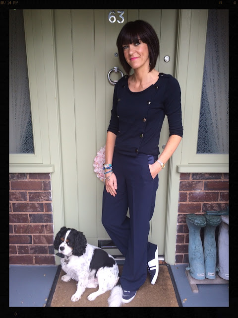 My Midlife Fashion, military, wide legged trousers, trainers, warehouse, zara, mango, hipanema