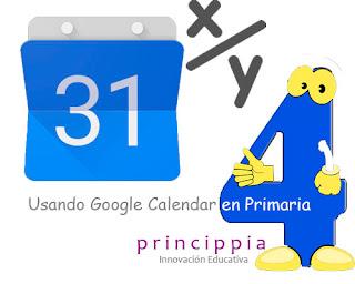 google calendar educacion actividades