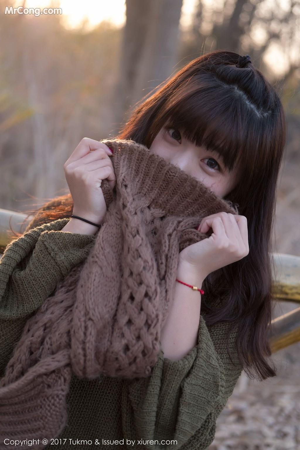 Image Tukmo-Vol.105-Qiu-Qiu-MrCong.com-005 in post Tukmo Vol.105: Người mẫu Qiu Qiu (球球) (41 ảnh)
