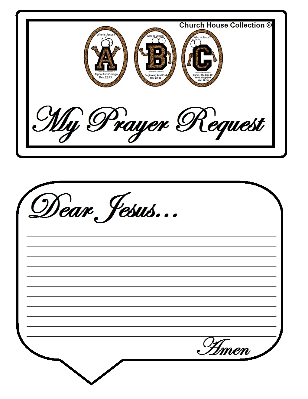 Church House Collection Blog Abc S Quot Who Is Jesus Quot White Binder With Clear Front Pocket