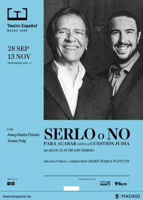 'Serlo o no', de Jose Maria Flotats, en el Teatro Español