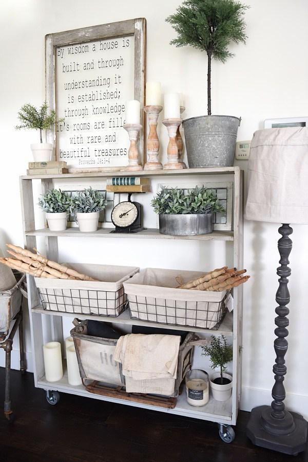 farmhouse bookcase plans diy
