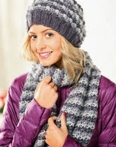 http://www.letsknit.co.uk/free-knitting-patterns/bobble-hat-and-scarf