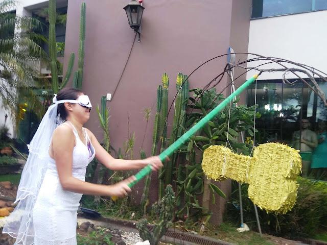 Brincadeira e decoração para despedida de solteiros