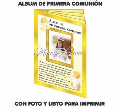 Album de Primera Comunion con Fotos