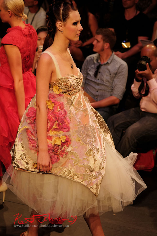 Bridal style, Raffles College 2012 Graduate Fashion Show Carriageworks, Everleigh Sydney