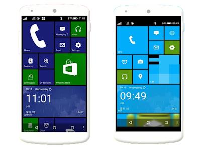 Cara Mengubah Tampilan Android Menjadi Windows Phone