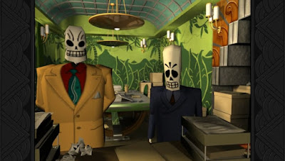 Image result for grim fandango gameplay