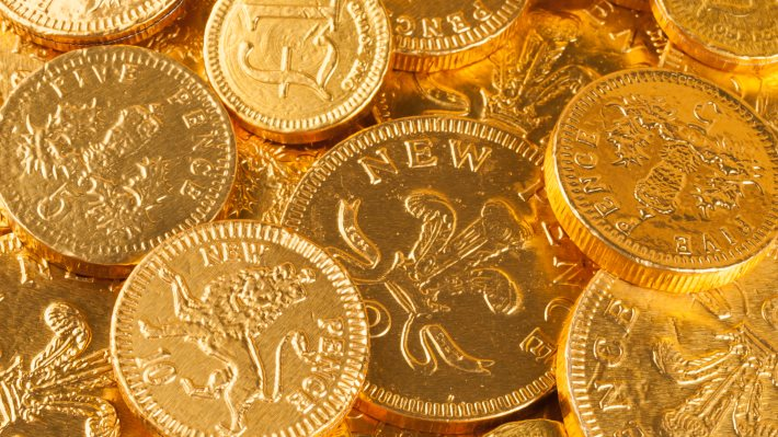 Wallpaper 2: Chocolate Coins