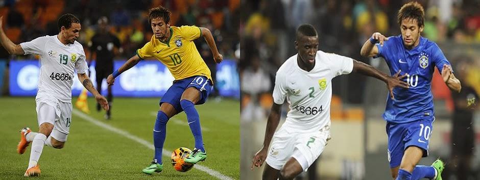 Nike obliga a Brasil a jugar con dos camisetas en un mismo partido