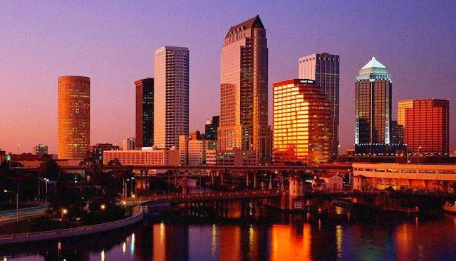 Cidade Lakeland na Flórida