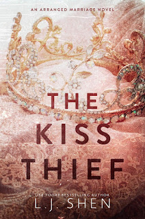 Book Cover with Crown of The Kiss Thief on Kindle Crack Book Reviews