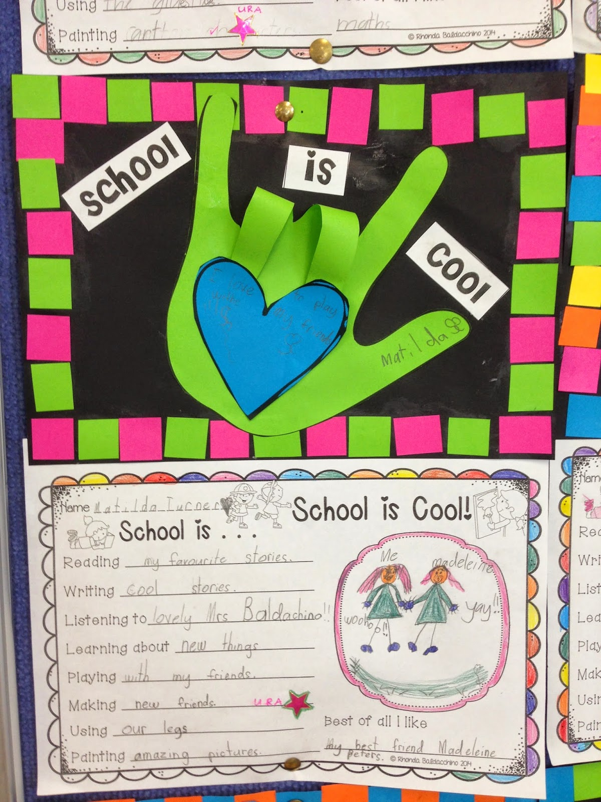 Classroom Fun School Is Cool Back To School Activity