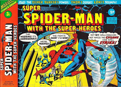 Super Spider-Man with the Super-Heroes #193, the Cyclone