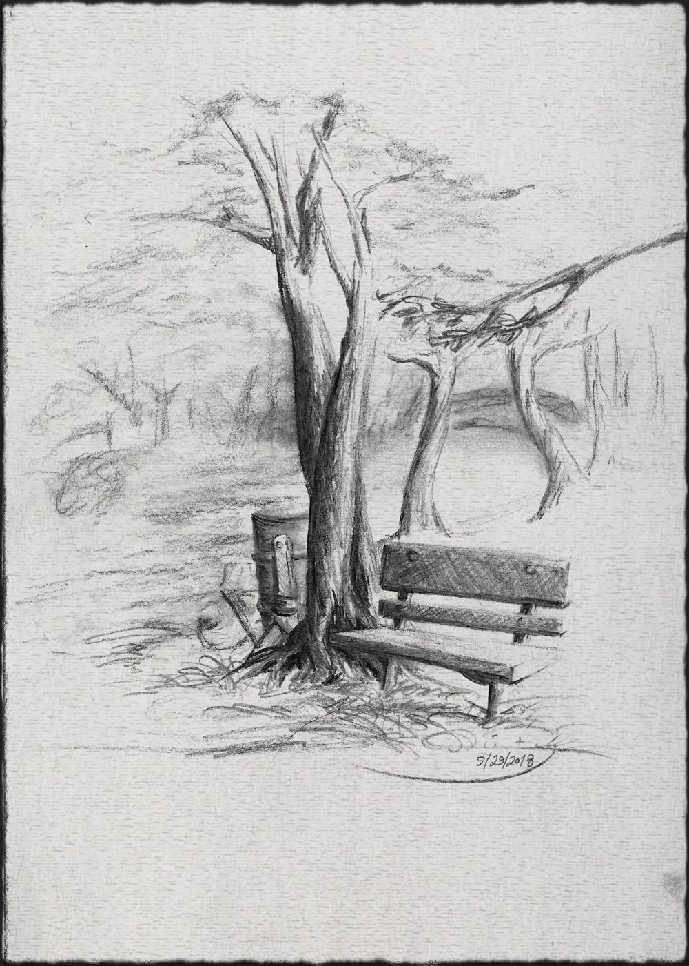 Momzillanc Park Bench