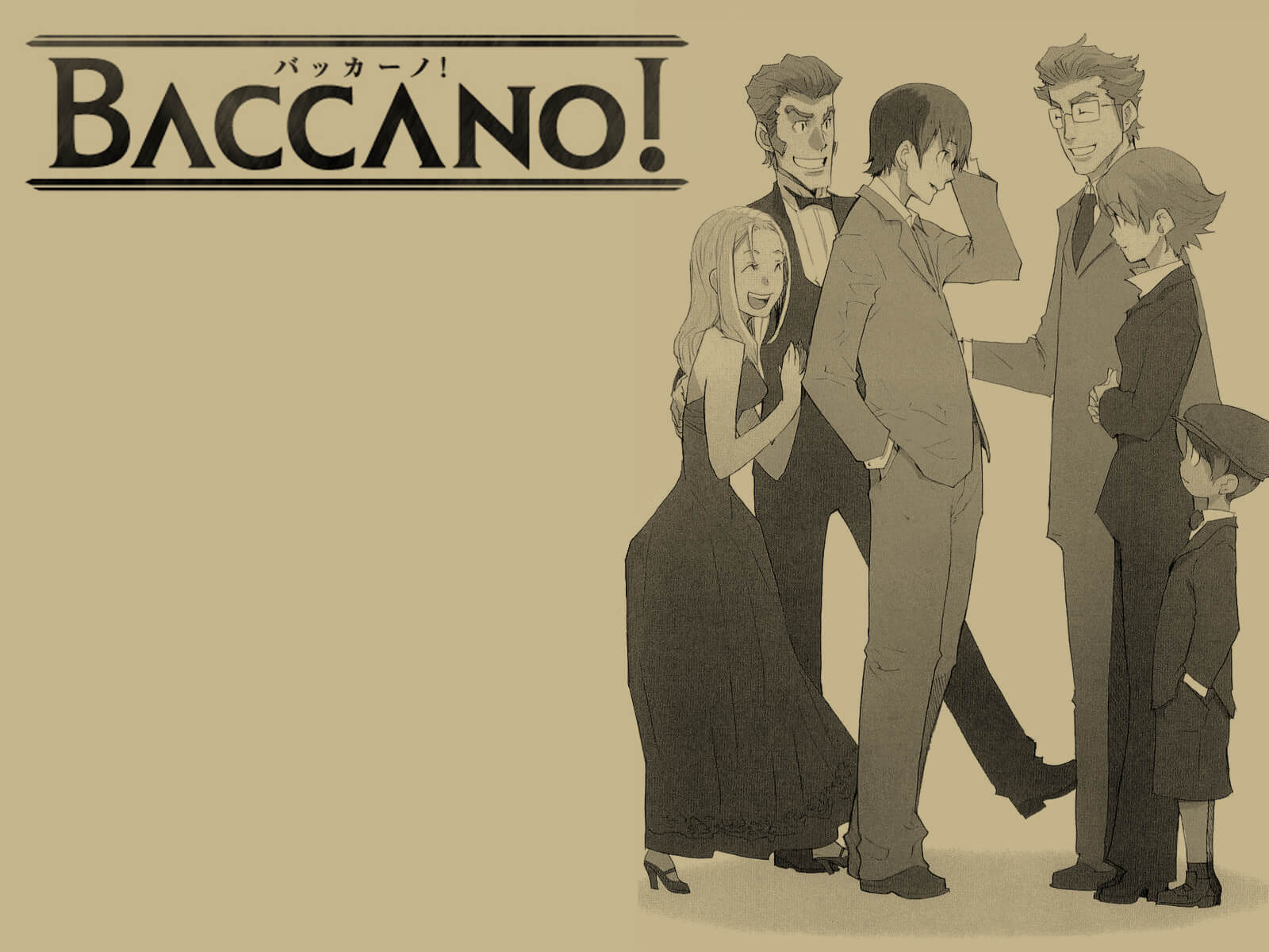 Baccano! [BD] Sub Indo : Episode 1-13 END