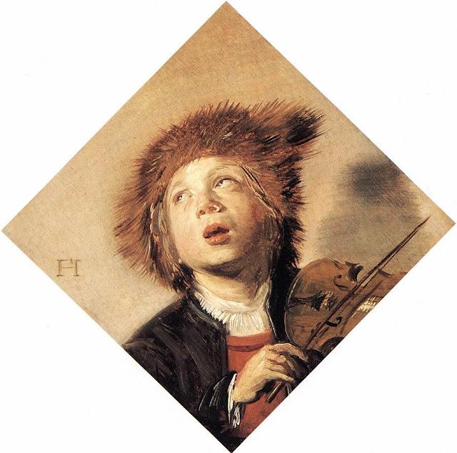 Frans Hals - Niño tocando el violín - 1625-30