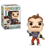 Pop Games: Hello Neighbor with axe and rope GAMESTOP