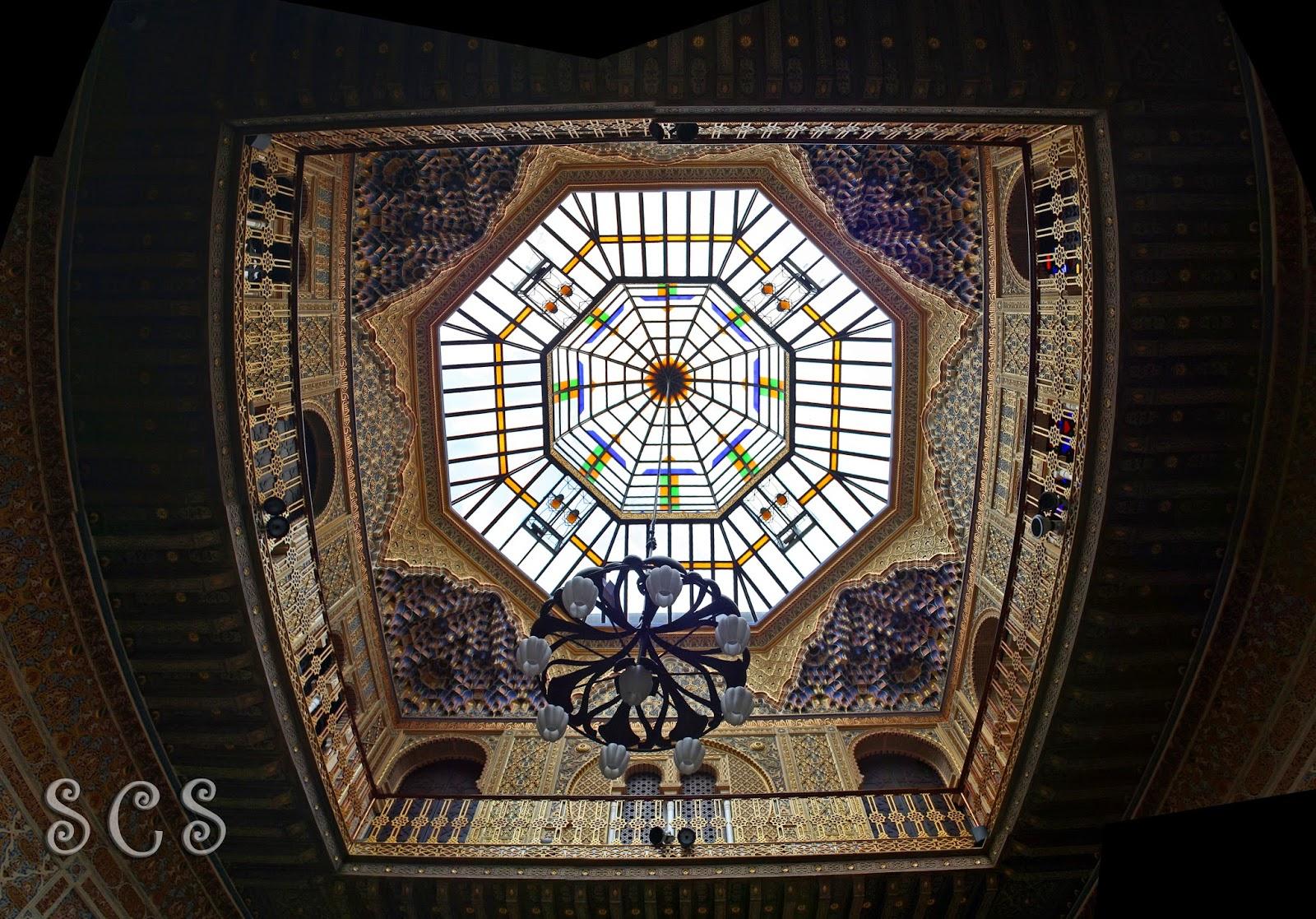 Patio Árabe del Real Casino de Murcia