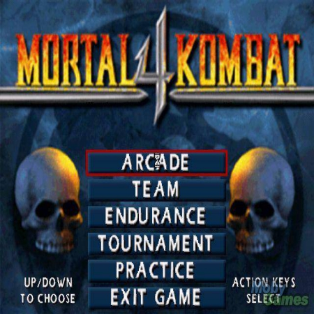 Download Mortal Kombat 4 Game For PC