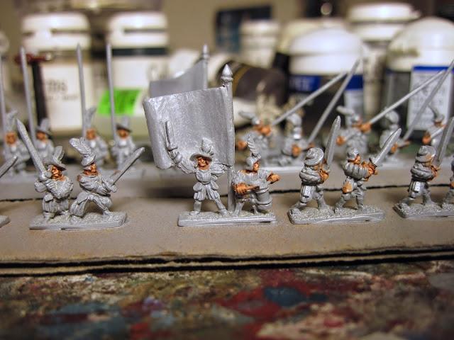 Warmonger Miniatures Landsknechte
