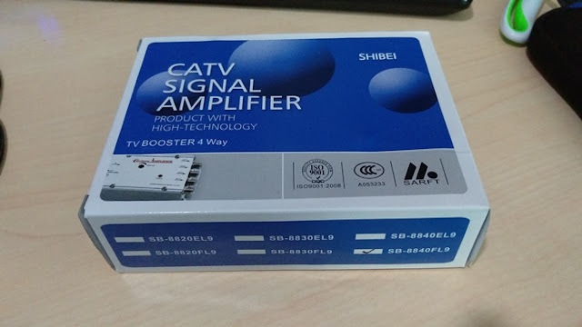 CATV signal amplifier