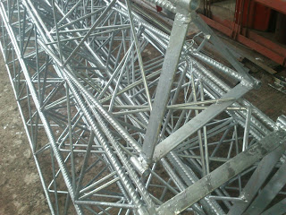 TOWER TRIANGLE GALVANIZ