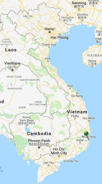 pin point map nha trang vietnam