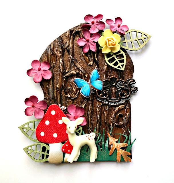 Fairy Door Arch by Dana Tatar for Tando Creative
