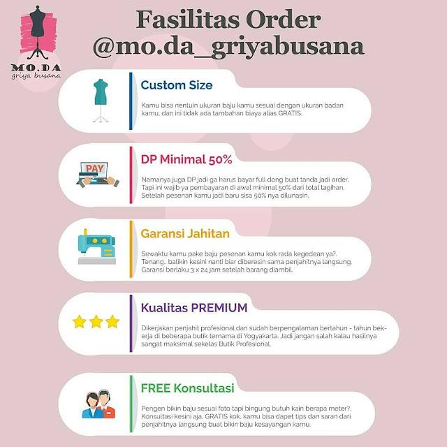 dasilitas order jahit baju online