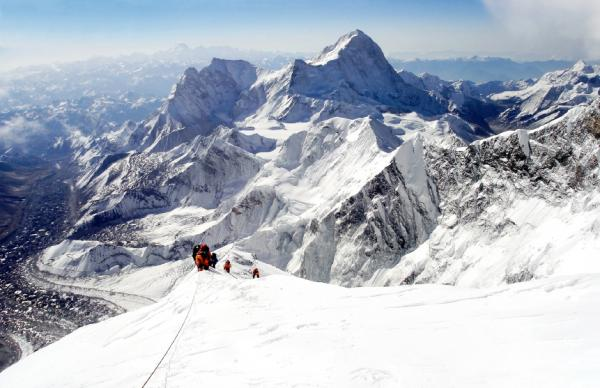 Climbing Mount Everest, The World's Highest Mountain