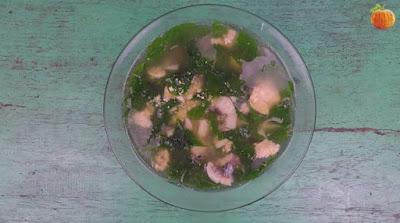 Canh rau ngót cá rô