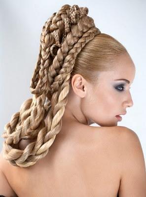 new hair designs for wedding party / bridal hair design
