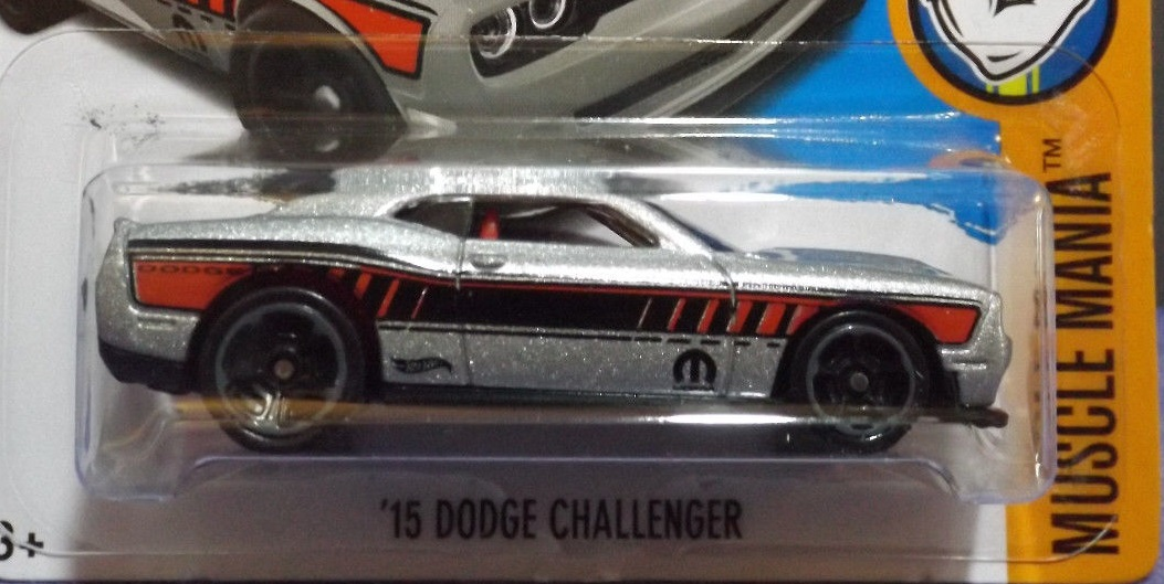 hot wheels 15 dodge challenger 2017