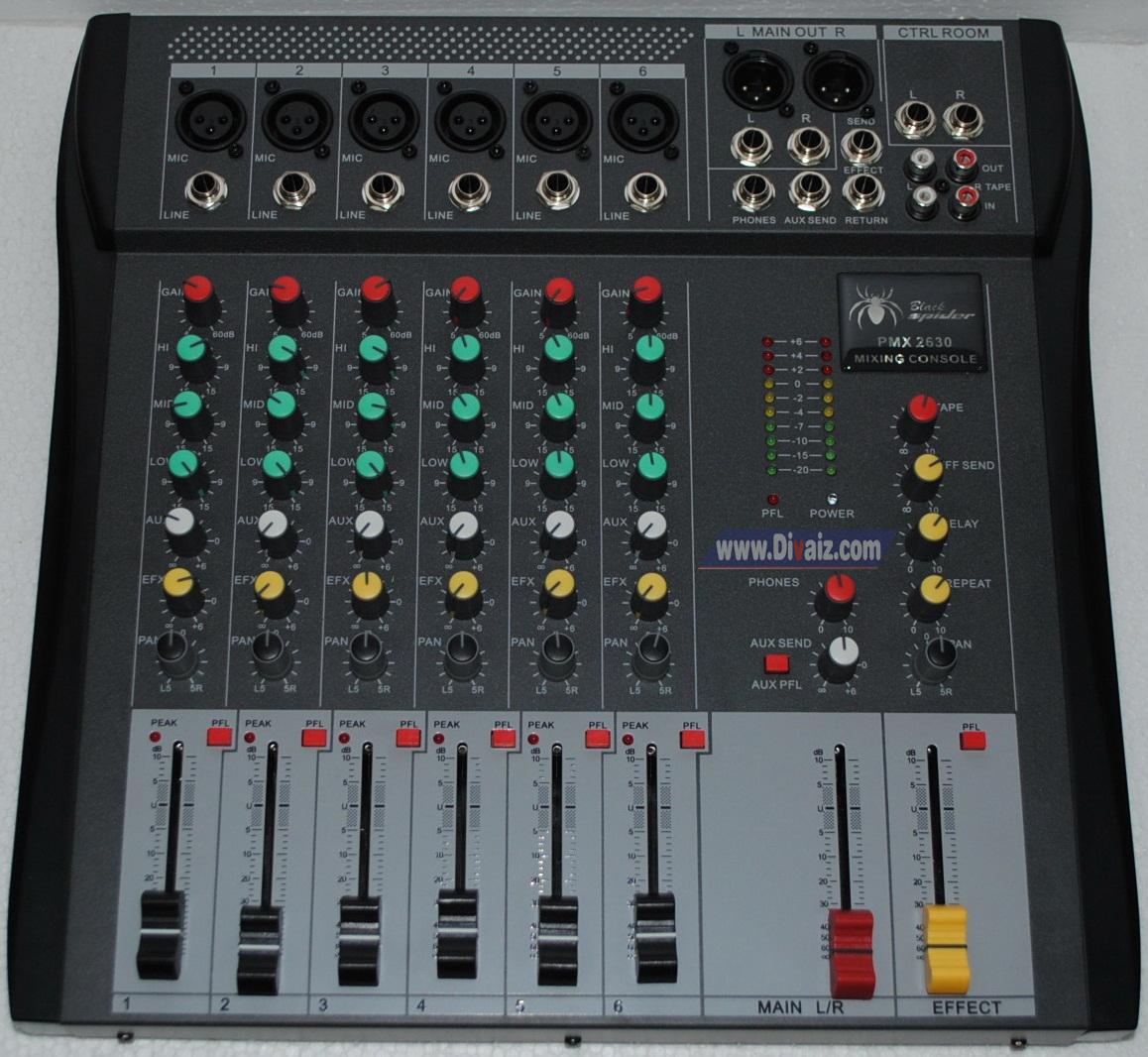 Mixer_Blackspider_PMX2630- www.divaizz.com